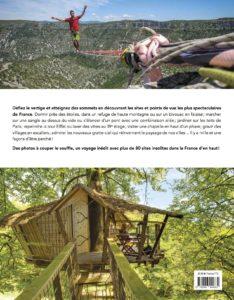 PERCHÉ LA FRANCE D'EN HAUT d'Arnaud Goumand - image quatrième de couverture livre Tourisme & Voyages