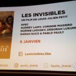 Showeb cinéma de rentrée 2018 image Apollo Films Les Invisibles