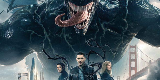 Venom de Ruben Fleischer affiche film