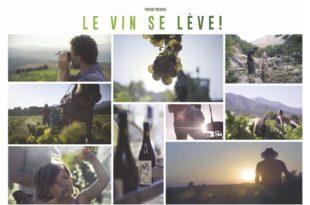 Wine Calling- Le vent se lève affiche film documentaire