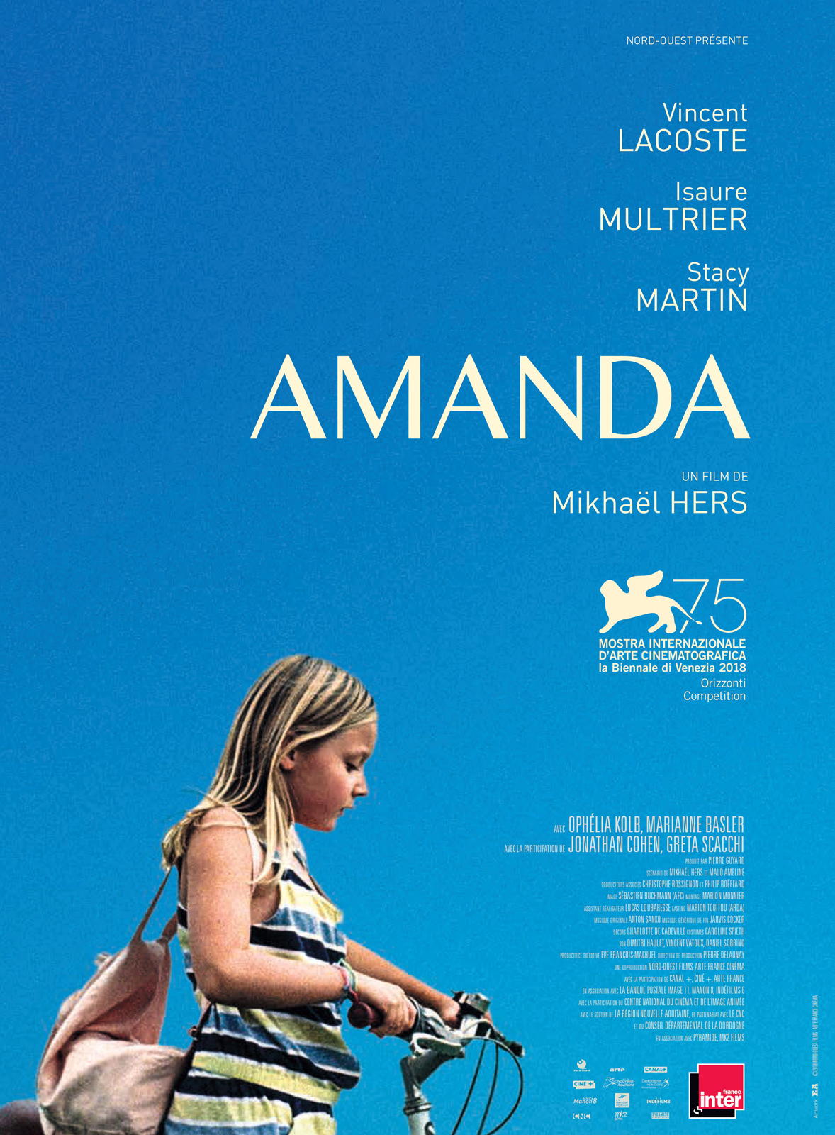 Amanda critique film avis Isaure Multier Vincent Lacoste photo