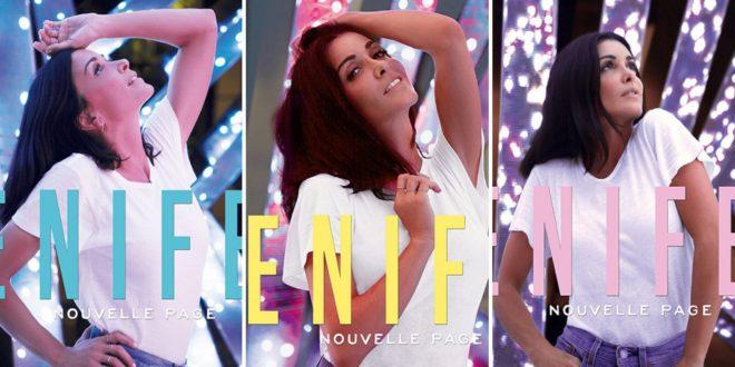 Jenifer image pochettes album Nouvelle Page musique
