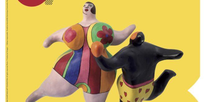 Niki de Saint Phalle exposition Ici tout est possible Bam Mons affiche art