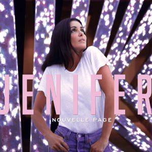 Pochette Nouvelle Page Collector album musique Jenifer