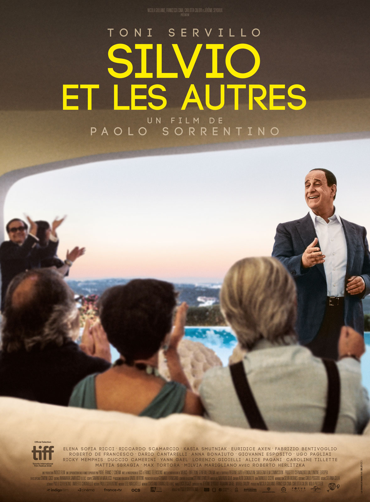 Silvio et les autres affiche film paolo sorrentino
