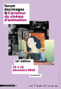 affiche Festival du Carrefour du cinéma d'animation 2018