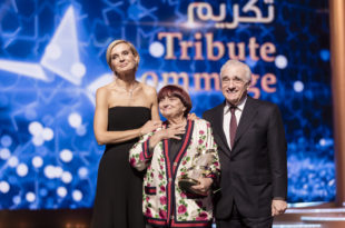 Agnès Varda au Festival du Film International de Marrakech 2018