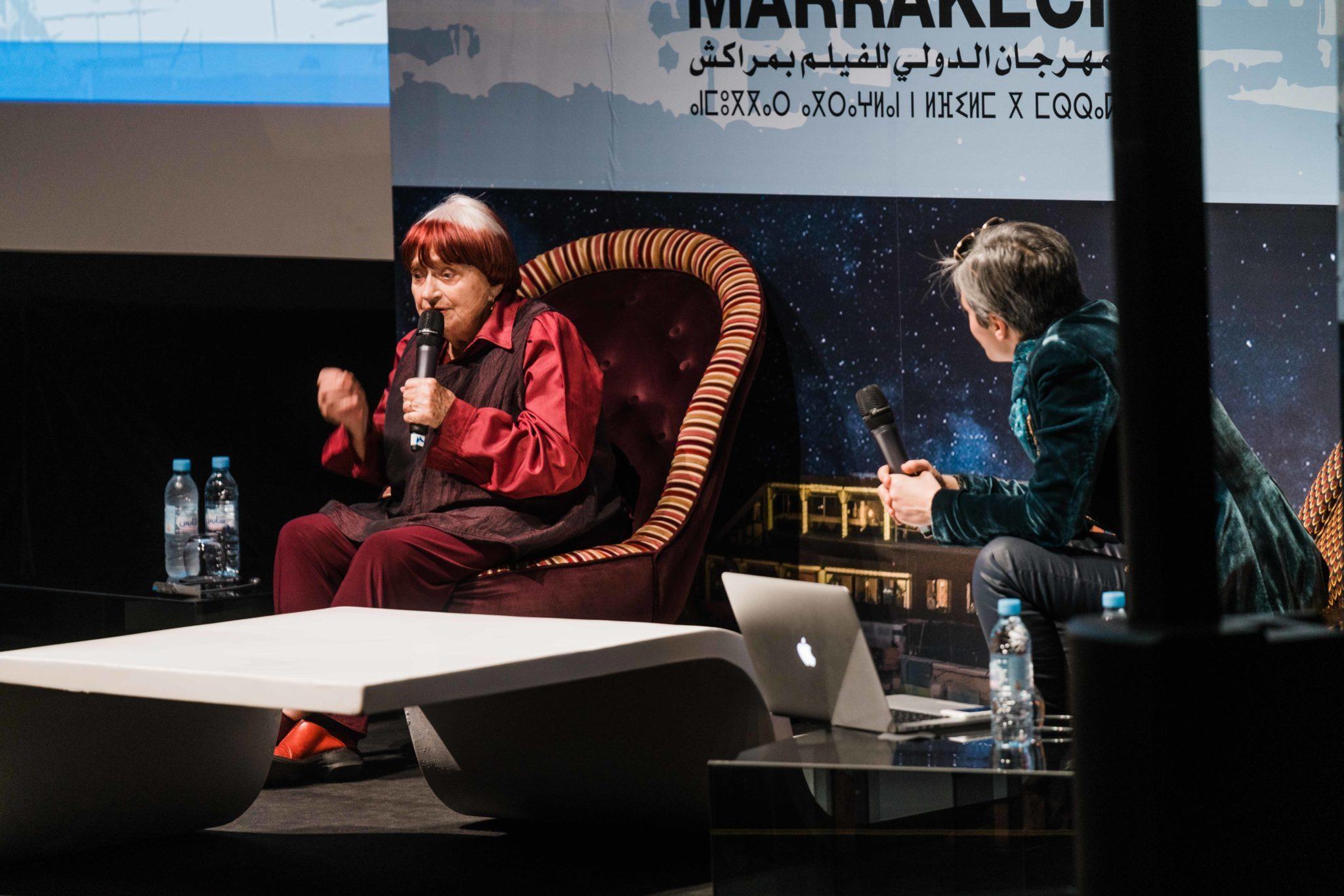 Conversation Agnès Varda Festival International du Film de Marrakech