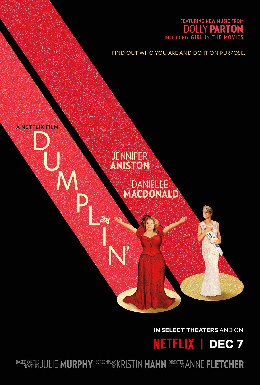 Dumplin' affiche film netflix Jennifer Aniston
