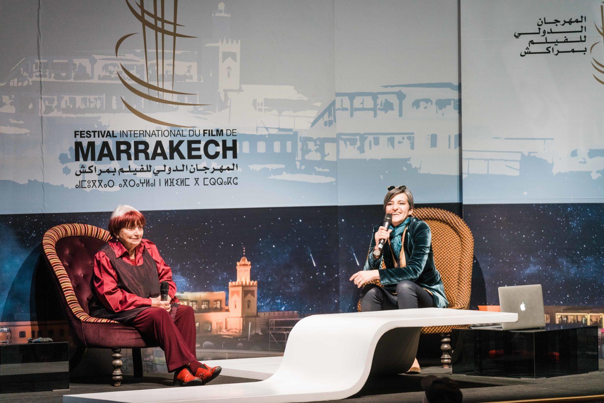 FIFM 2018 Conversation avec Agnès Varda au Festival International du Film de Marrakech