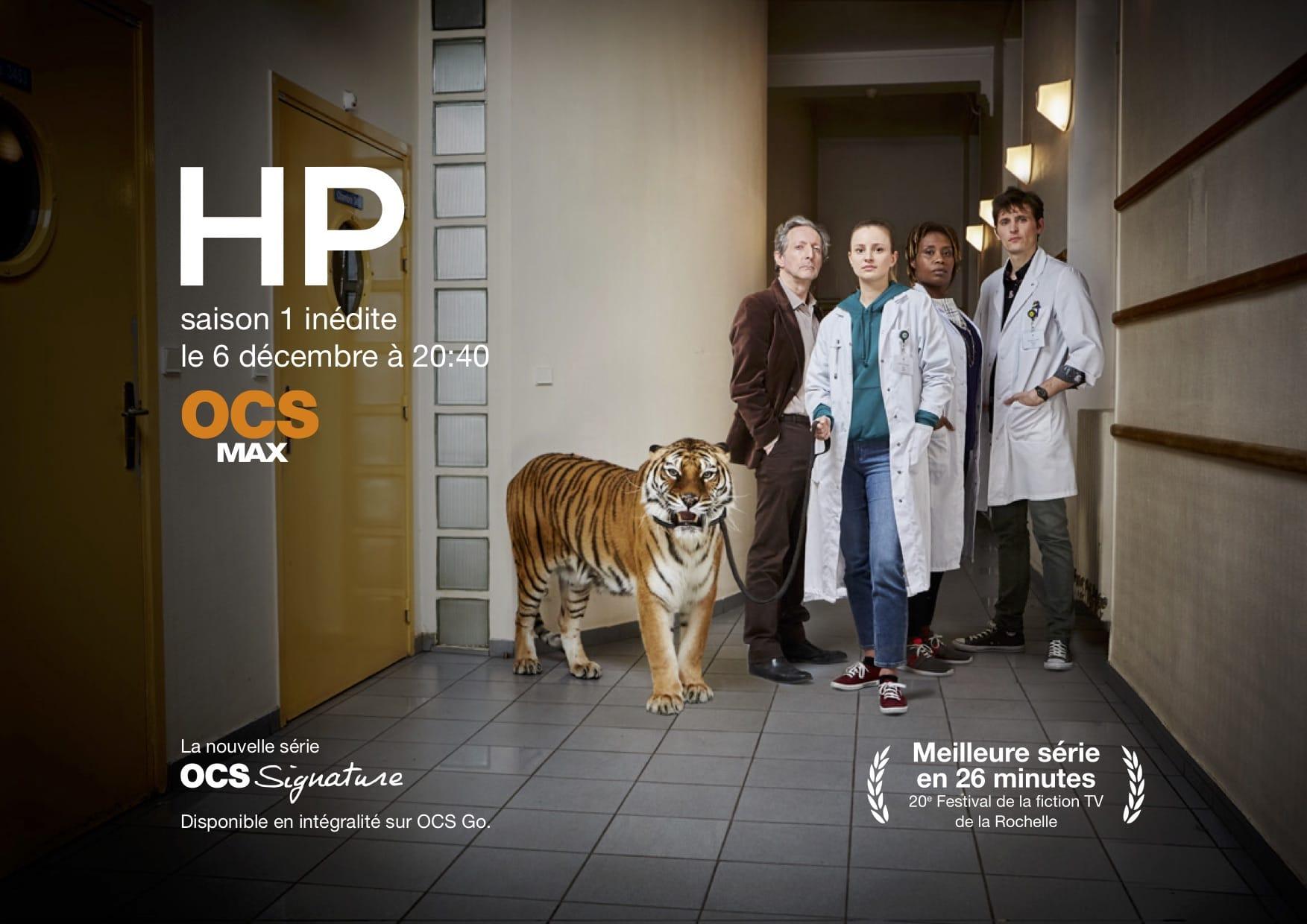 HP saison 1 affiche série