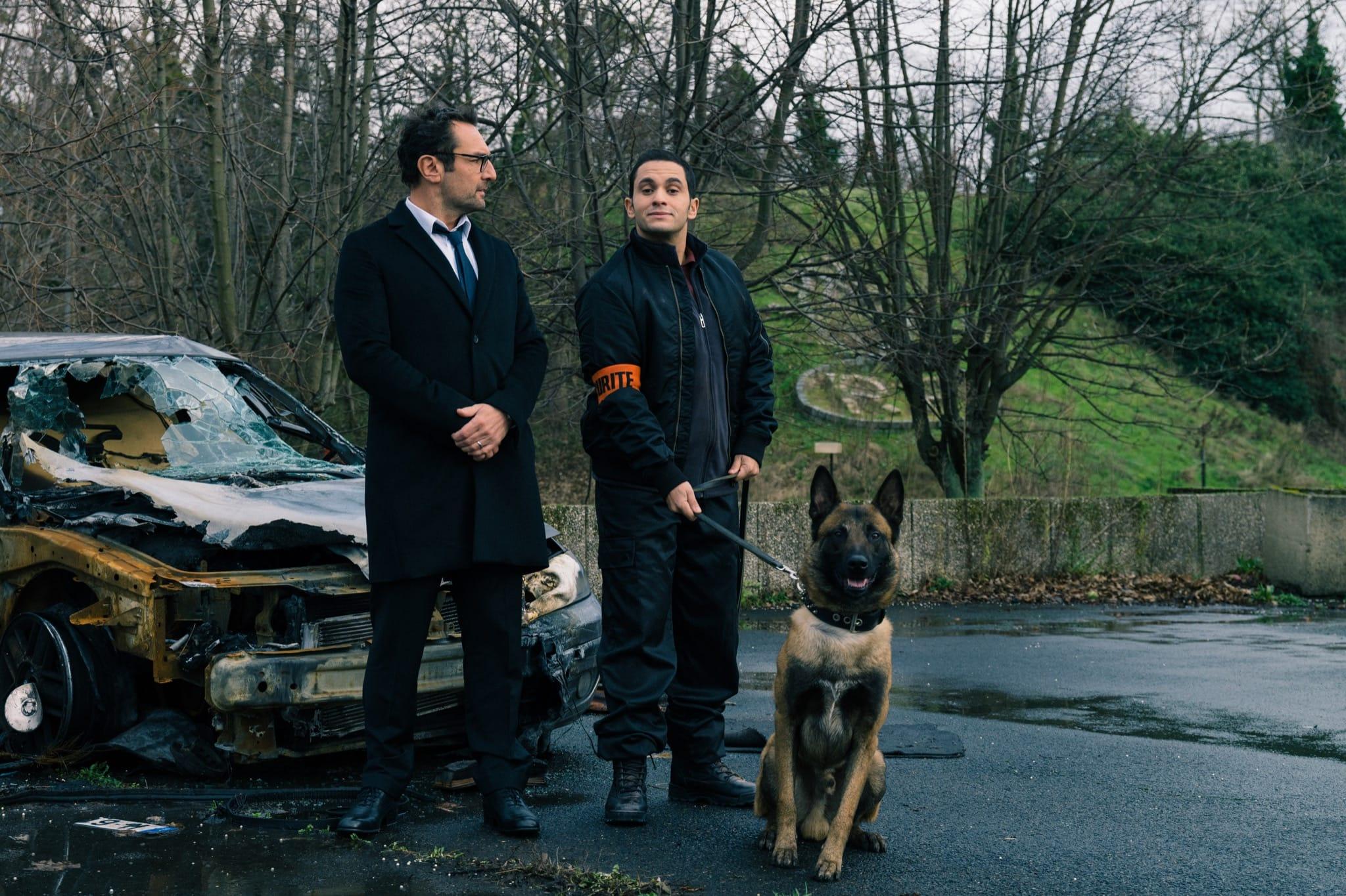 Jusqu'ici tout va bien de Mohamed Hamidi image Gilles Lellouche, Malik Bentalha cinéma