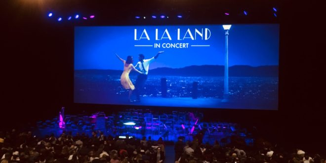 La La Land ciné concert photo paris
