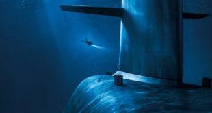 Le Chant du loup d'Antonin Baudry affiche film cinéma