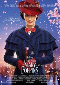 Le Retour de Mary Poppins affiche film critique avis