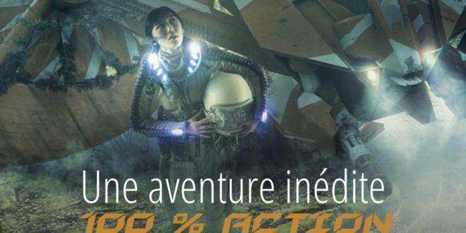 Time Tripper flyer jeu d'aventure indoor