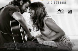 A Star Is Born de Bradley Cooper affiche film cinéma