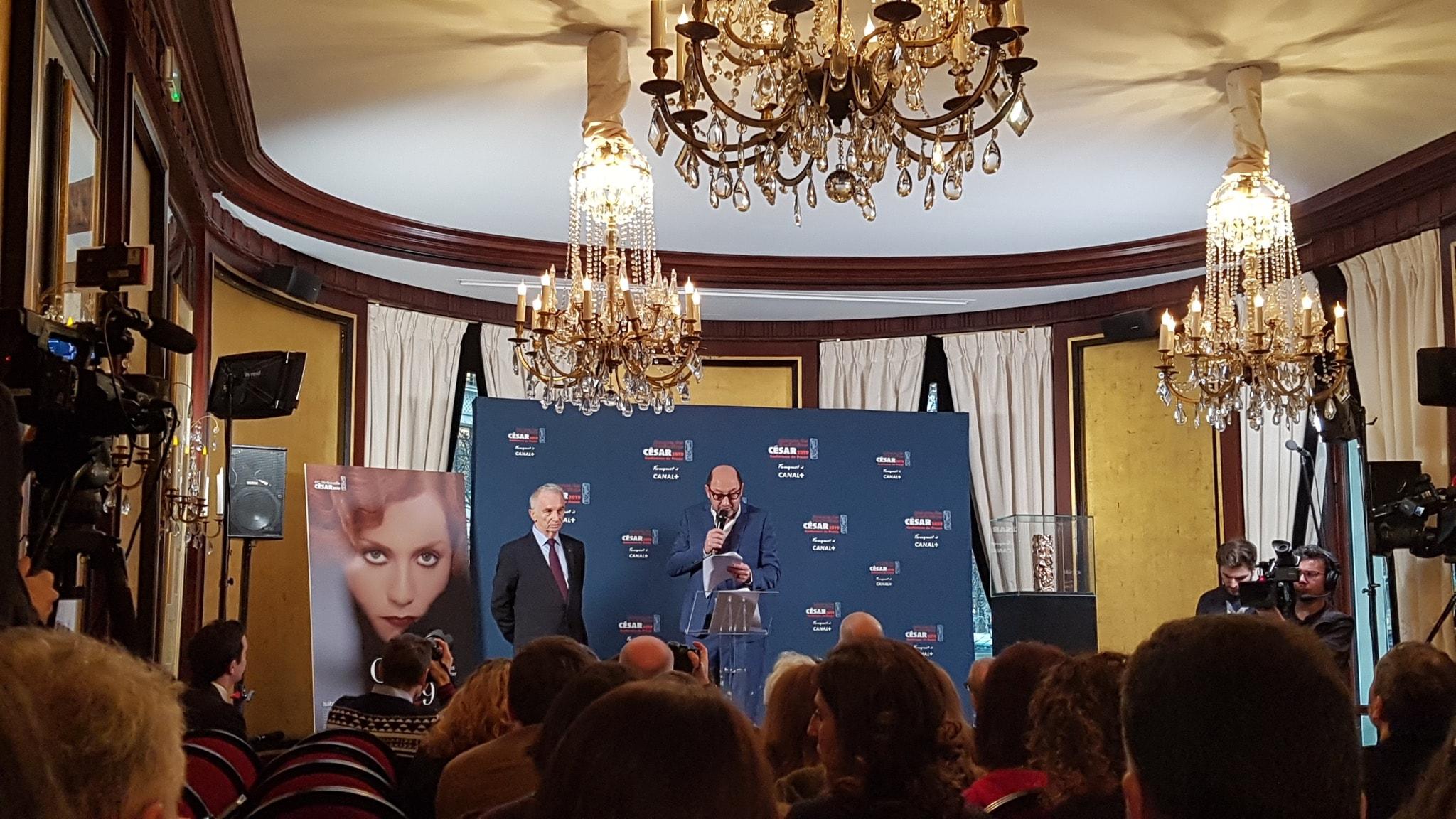 Cesar 2019 image conférence de presse cinéma
