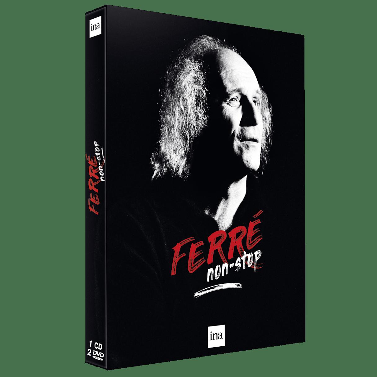 Ferré Non-Stop image pochette coffret musique