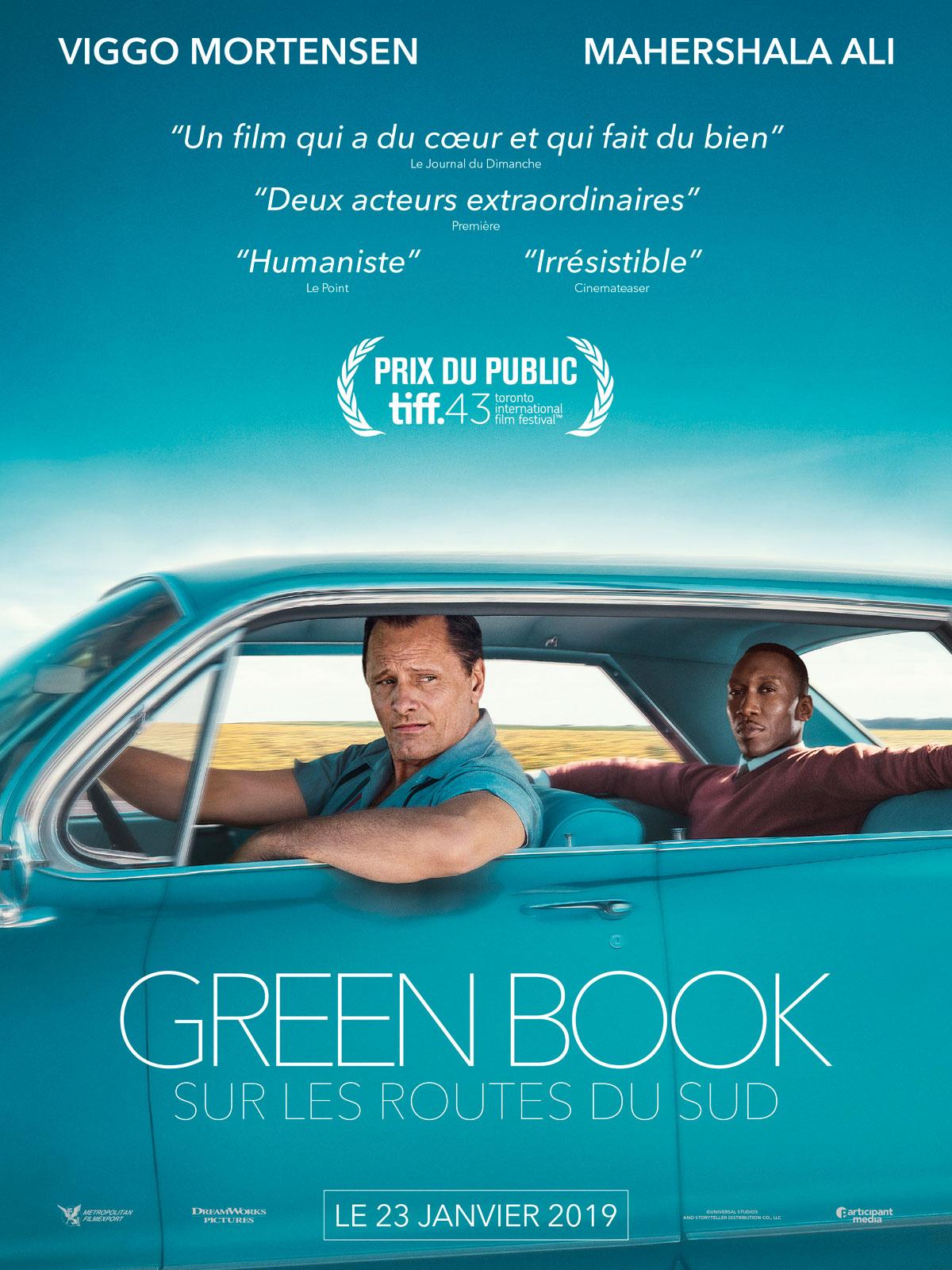 Green Book critique film avis affiche