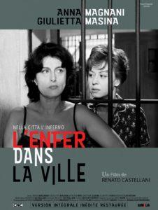 L'Enfer dans la ville de Renato Castellan affiche film cinéma Italie