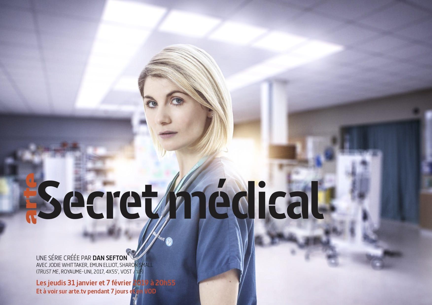 Secret médical affiche série télé