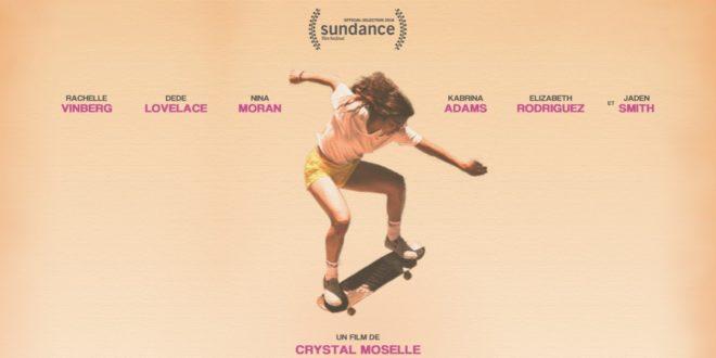 SKATE KITCHEN de Crystal Moselle affiche film cinéma