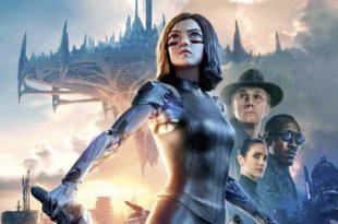 Alita : Battle Angel de Robert Rodriguez affiche film cinéma