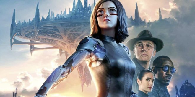Alita : Battle Angel de Robert Rodriguez affiche film cinéma