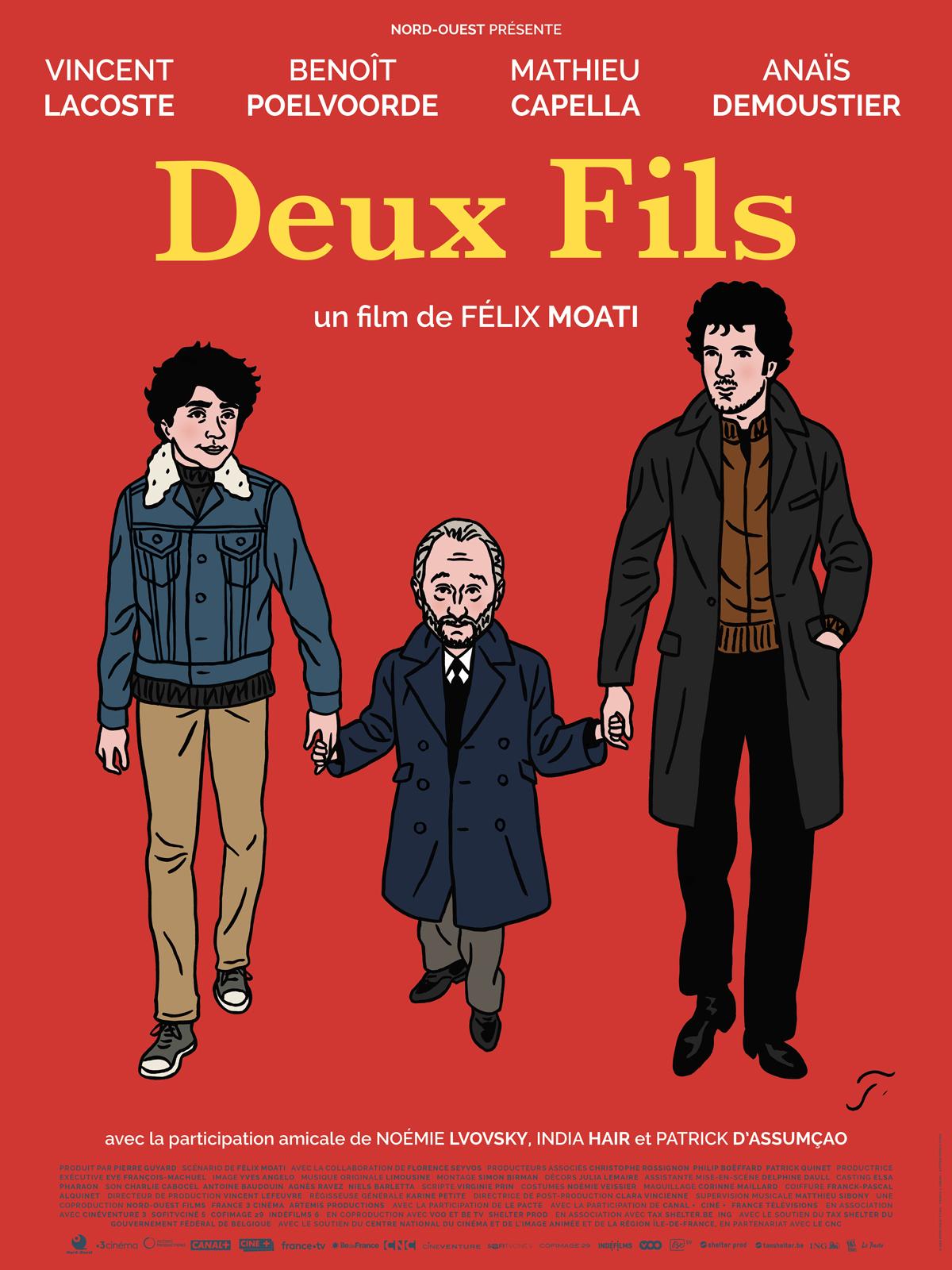 """[Critique] """"Deux fils"""" (2019) de Félix Moati 6 image"""