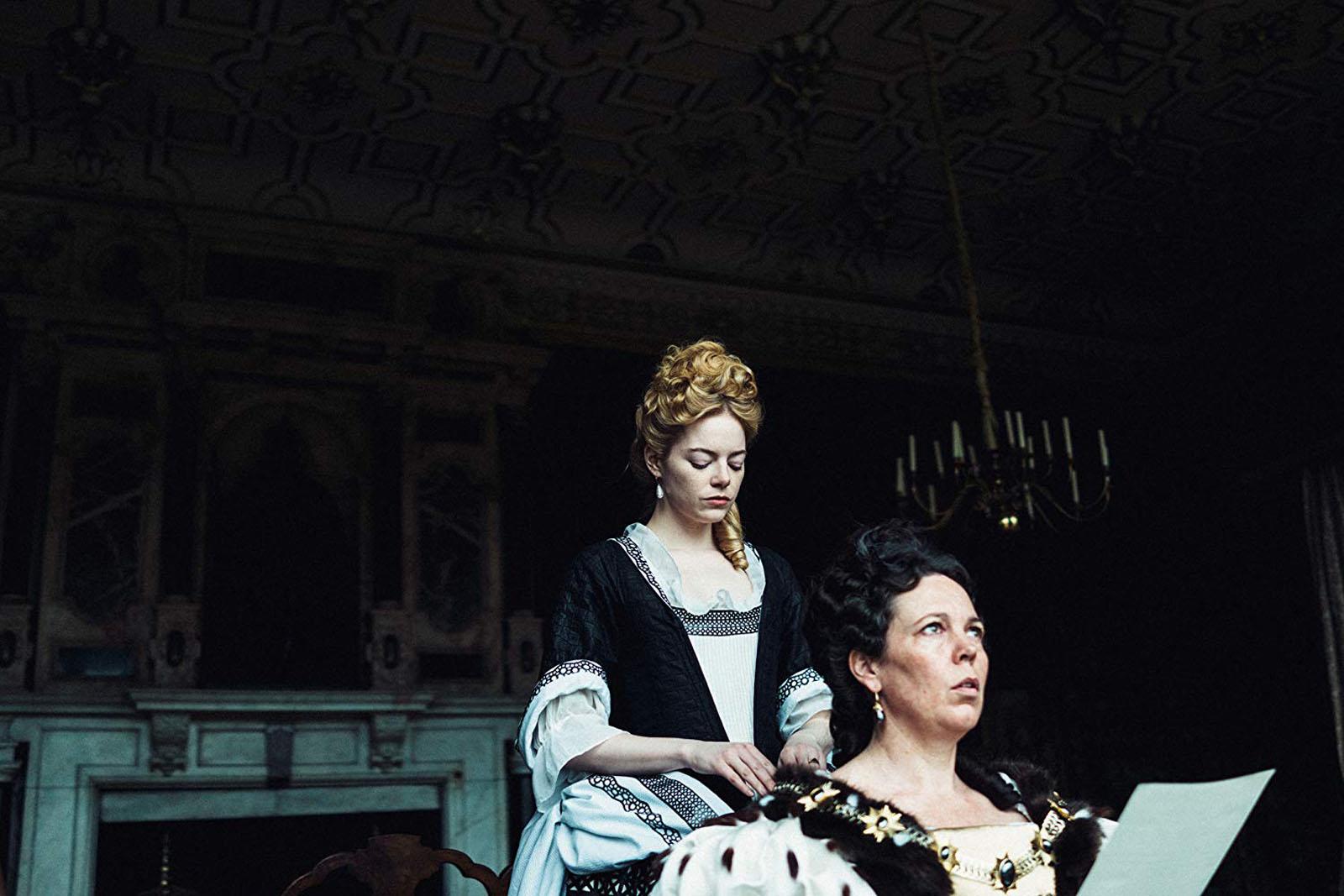La Favorite Photo Emma Stone, Olivia Colman critique film avis
