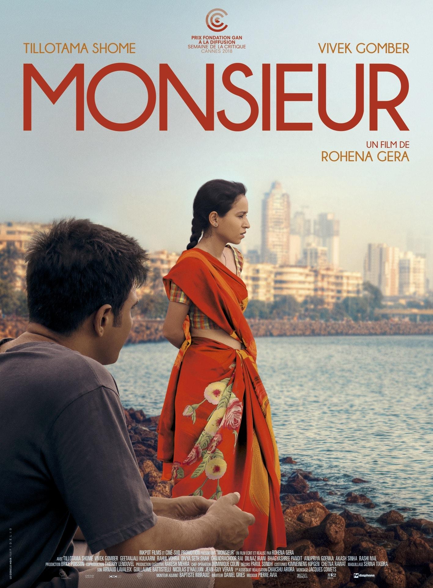 Monsieur de Rohena Gera affiche film cinéma