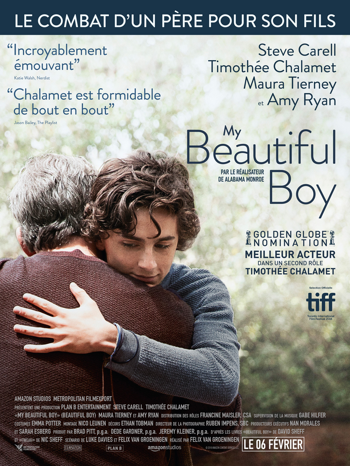 My Beautiful Boy critique film avis affiche