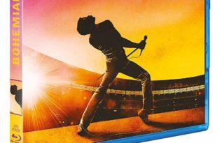 Bohemian Rhapsody image pochette Blu-ray film cinéma