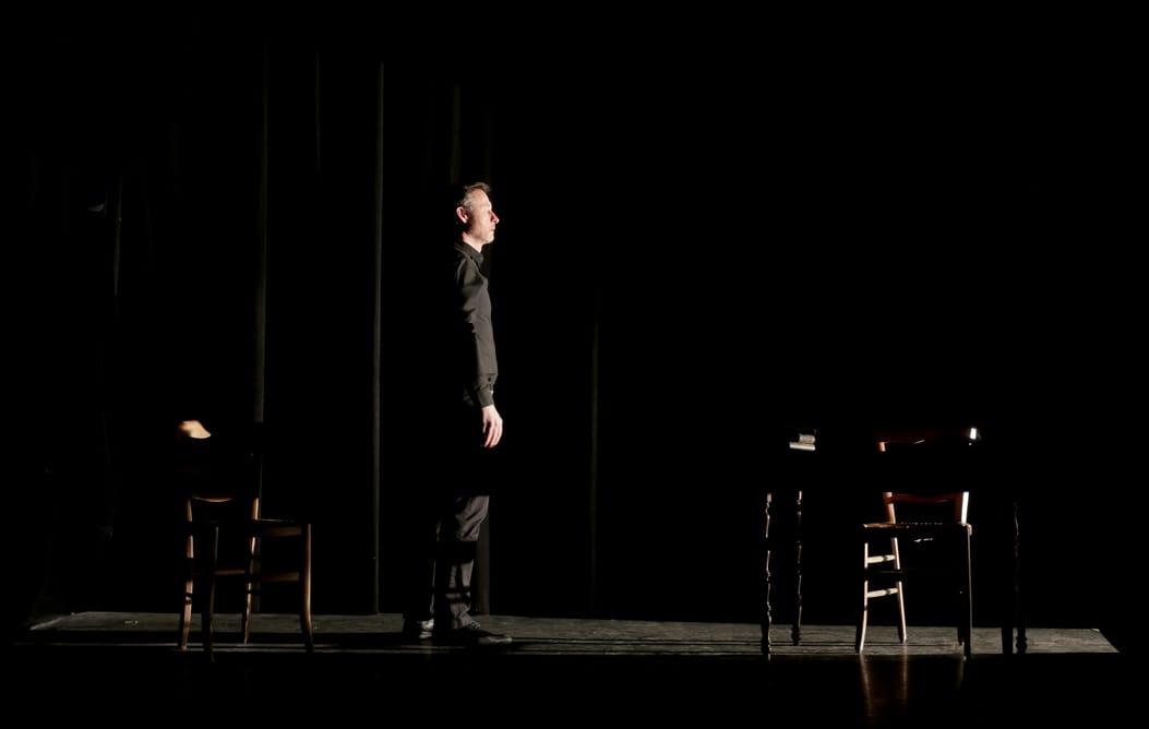 CHARLES PÉGUY LE VISIONNAIRE de Samuel BARTHOLIN et par Laetitia GONZALBES image seul en scène