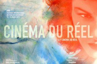 Cinéma du réel 2019 affiche festival de films documentaires