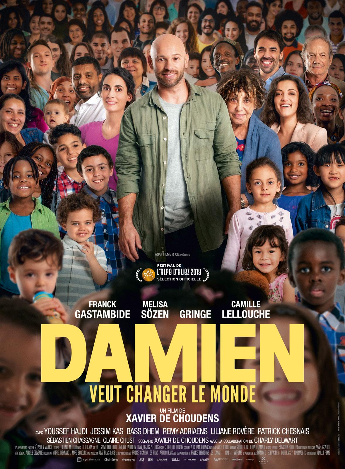 Damien veut changer le monde affiche film critique avis cinema
