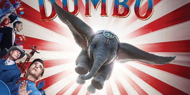 Dumbo de Tim Burton afffiche film cinéma