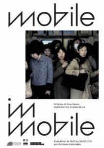 Exposition Mobile/Immobile affiche