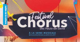 Festival Chorus 2019 affiche musique