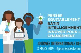 Journée internationale des femmes 2019 affiche