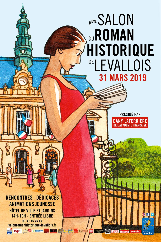 Salon du Roman Historique 2019 Affiche