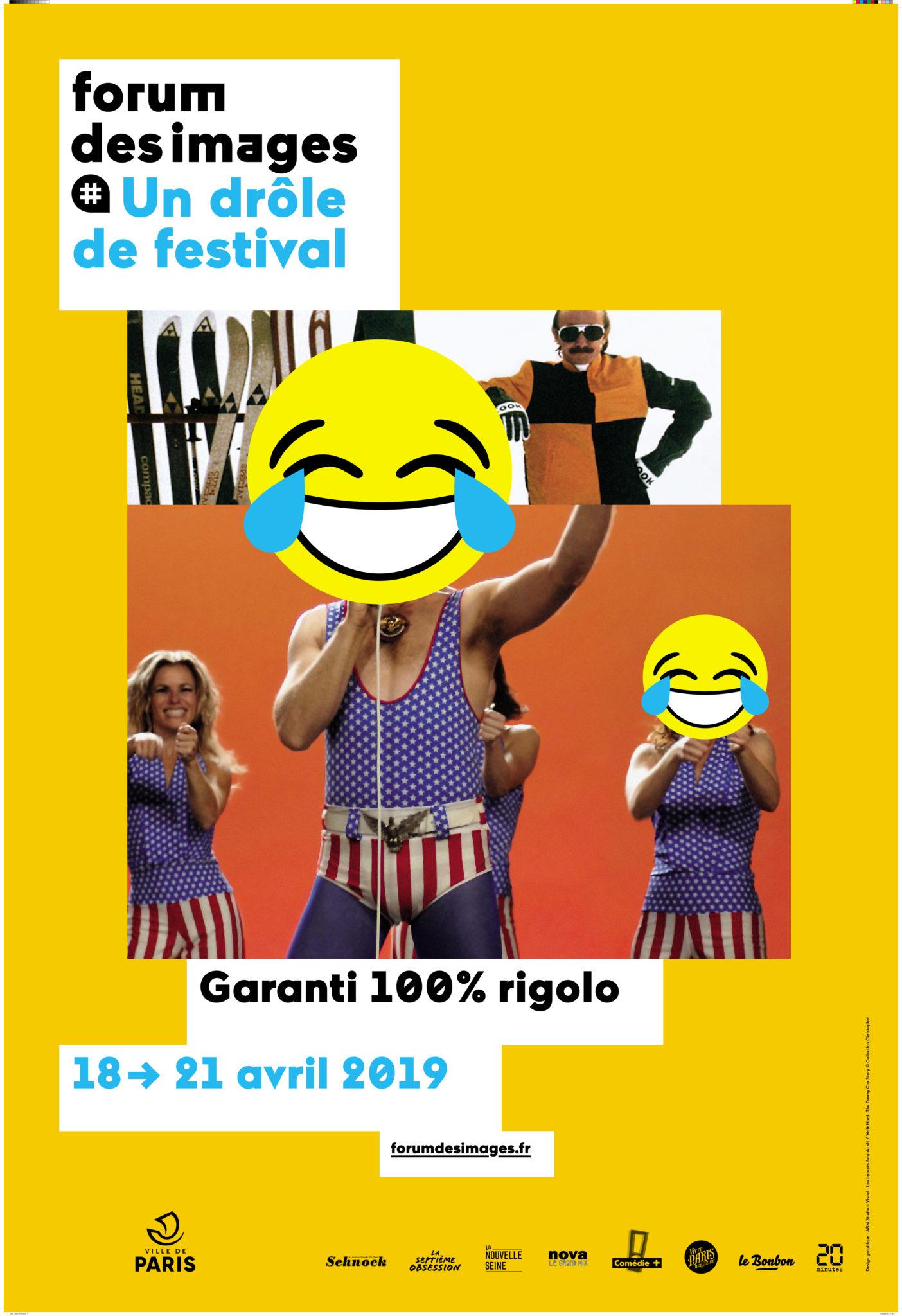 Affiche Un drôle de festival forum des images