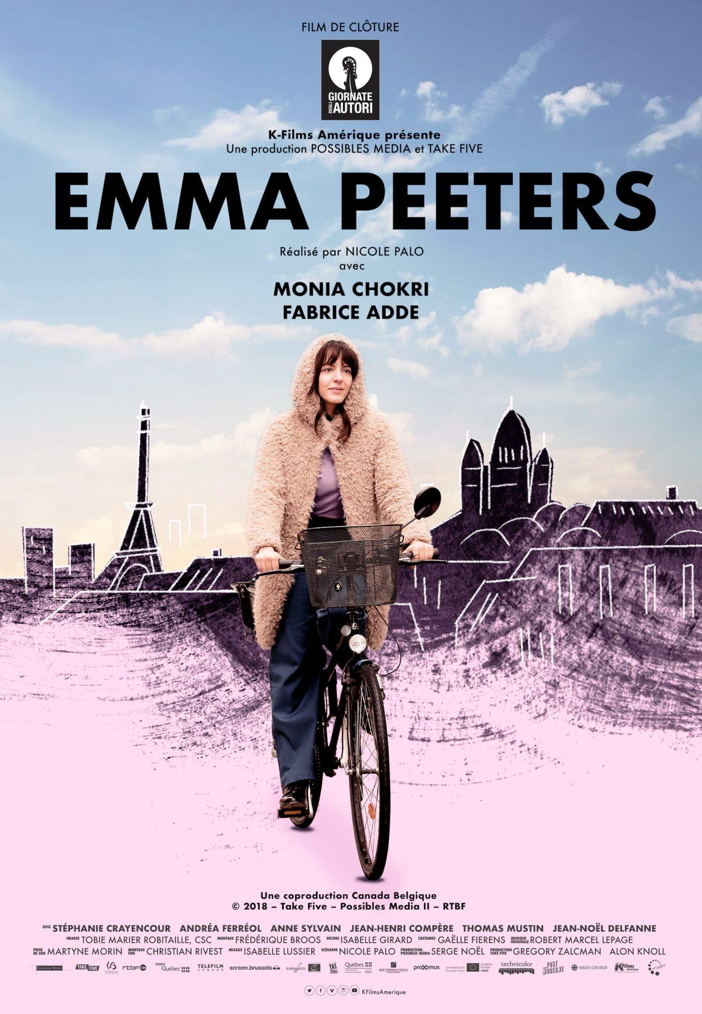 Emma Peeters de Nicole Palo affiche film cinéma