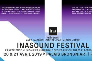 Inasound Festival 2019 affiche musique