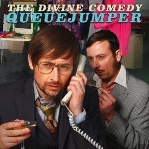 The Divine Comedy image single Queuejumper album Office Politics affiche musique