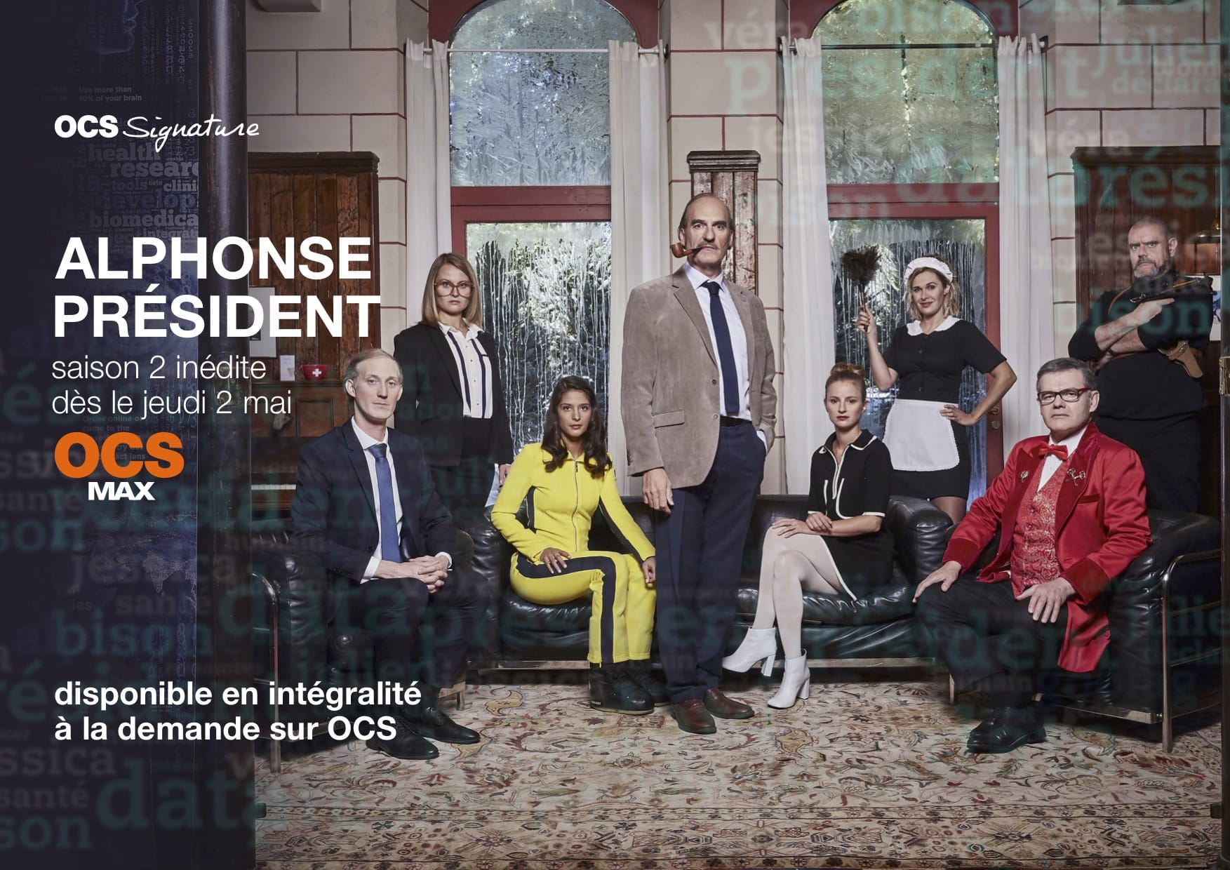 Alphonse Président saison 2 affiche série télé