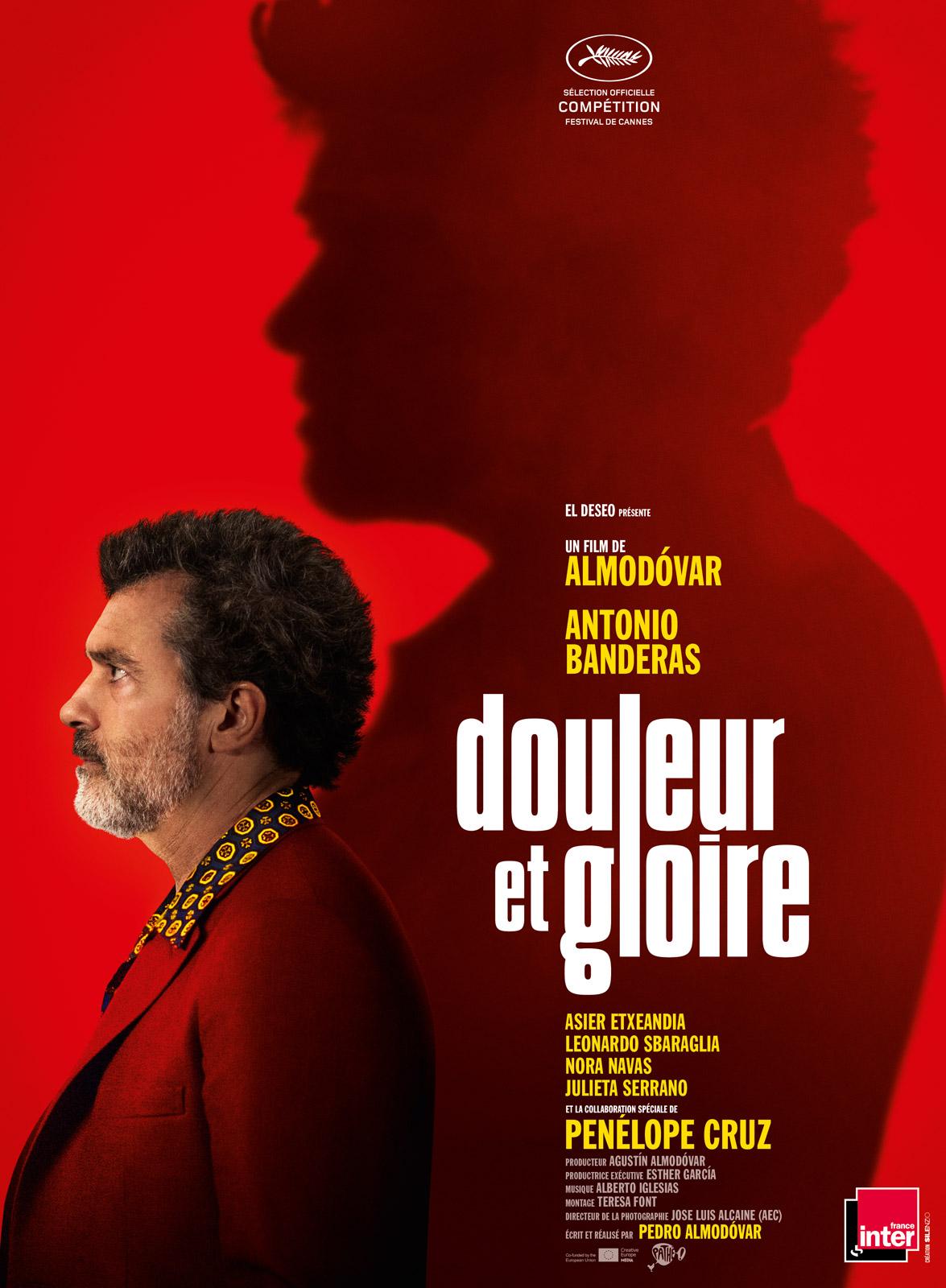Douleur et gloire critique avis film cannes 2019 affiche