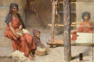 exposition L'Algérie de Guillaume Guillaumet (1840-1847) affiche musée La Piscine de Roubaix