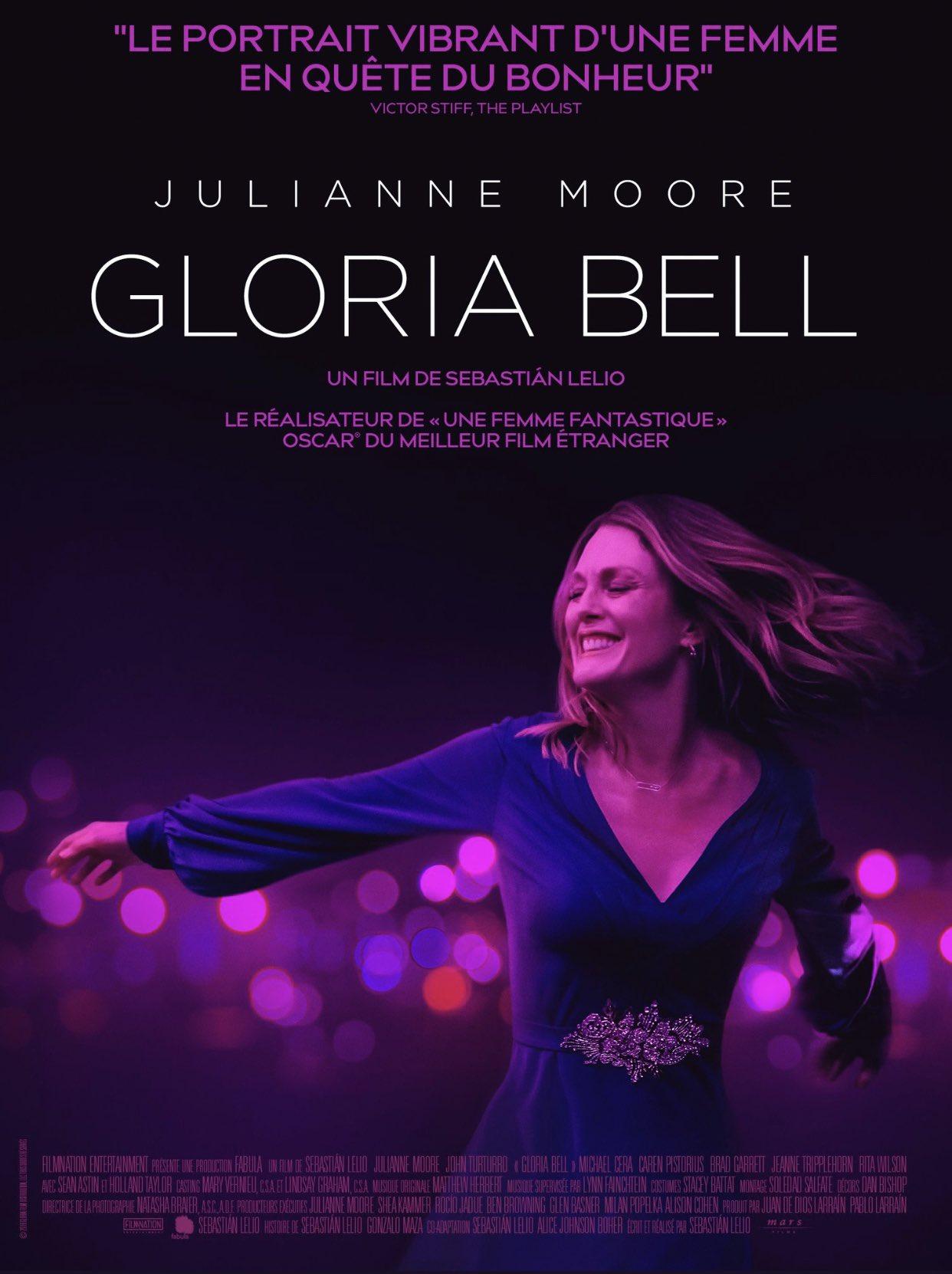 Gloria Bell sebastian Lelio affiche film critique avis